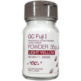GC Fuji Gold Label Type 1 Luting Cement Powder Only