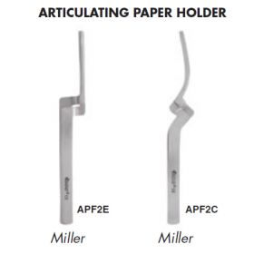 GDC Miller Articulating Paper Holding Holder Forceps APF2