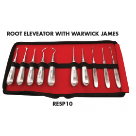 GDC Root Elevators Standard Set Of 10 With Warwick James