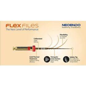Neoendo Flex Rotary Files Refill Pack