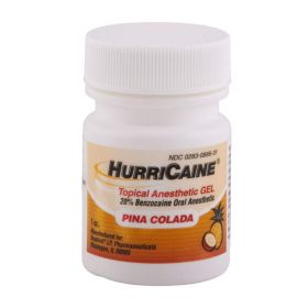 Hurricaine Topical Oral Anesthetic Gel Pina Colada