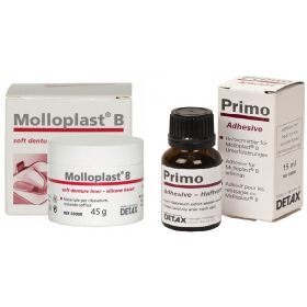Detax Molloplast B Heat Cure Soft Reliner Combo Pack