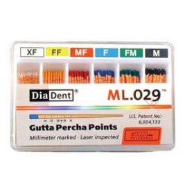 DiaDent Gutta Percha Points Non Standard  Pack Of 100