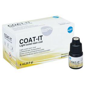 Shofu COAT IT Light Cured Resin Coat 6ml bottle
